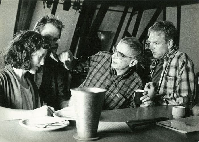 """Six Actors in Search of a Director"" mit Krzysztof Kieslowski und Lief Magnusson. © Carl Finkbeiner"